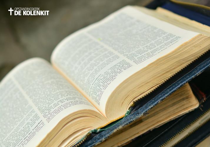 Bijbelstudie bij Opstandingskerk de Kolenkit in Amsterdam