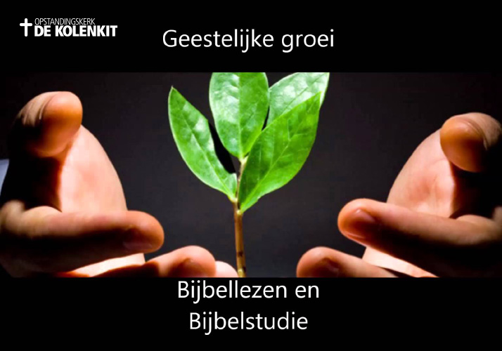 Bijbelstudie bij de Kolenkitkerk in Amsterdam