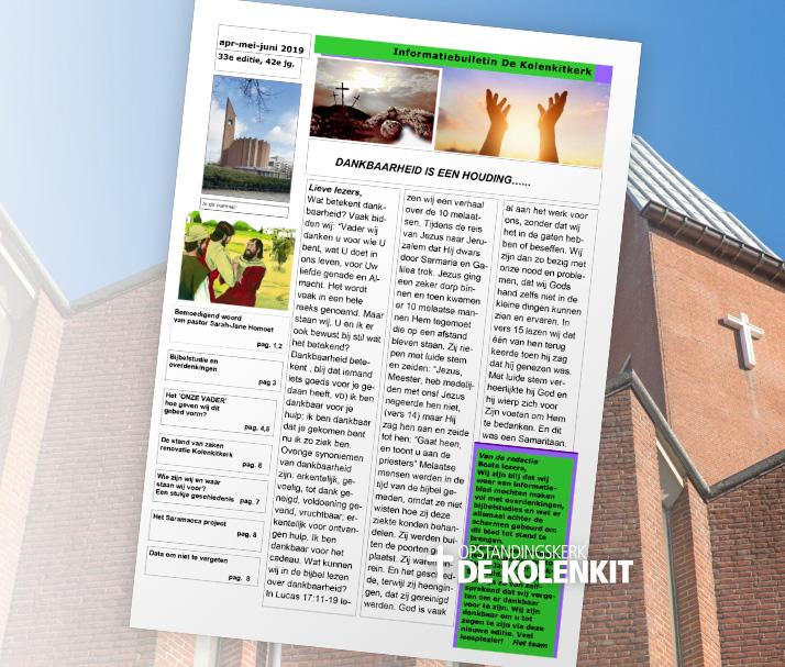 Informatiebulletin de Kolenkitkerk in Amsterdam - Editie 33