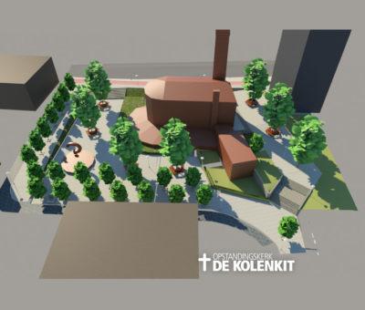Bouwplannen de Kolenkitkerk in Amsterdam