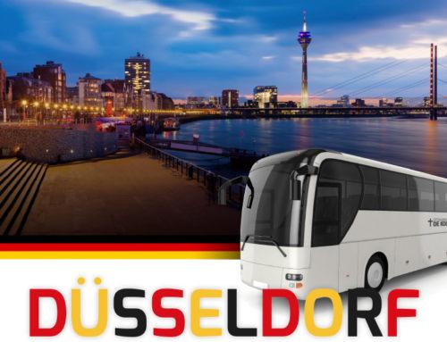 Lekker een dagje weg met de bus naar Düsseldorf.