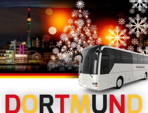 Een dagje weg naar de kerstmarkt in Dortmund