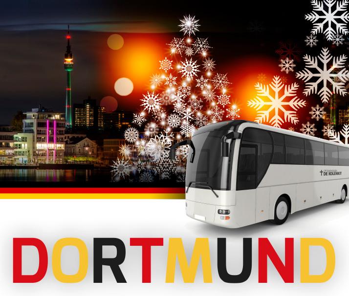 Busreis naar de Dortmunder Weihnachtsmarkt met de Kolenkitkerk.