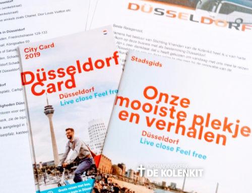Het verslag van een relaxed dagje in Düsseldorf.