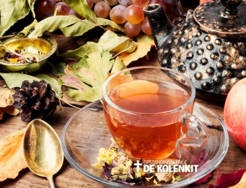 """Herfst High Tea met als thema """"Winnaarsmentaliteit"""""""