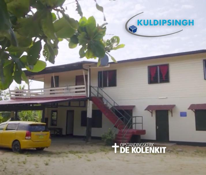 Kuldipsingh helpt Eben Haëzer met een fantastisch renovatie project