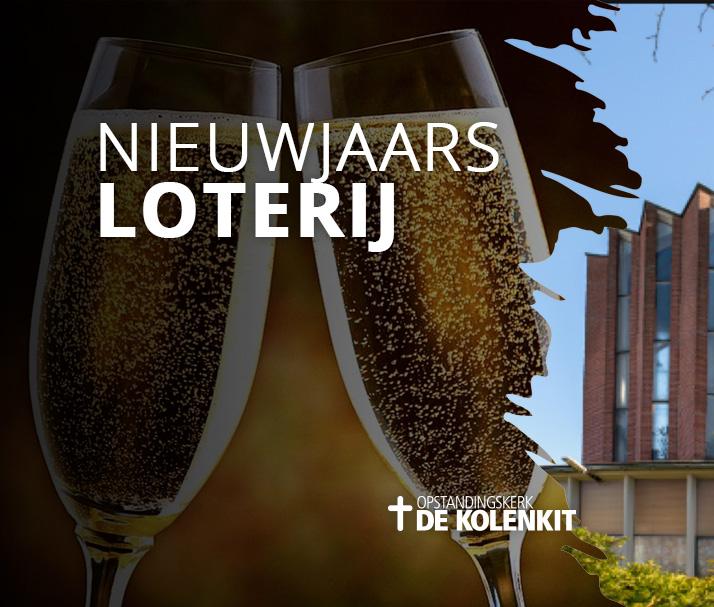 Nieuwjaars loterij Kolenkitkerk Amsterdam